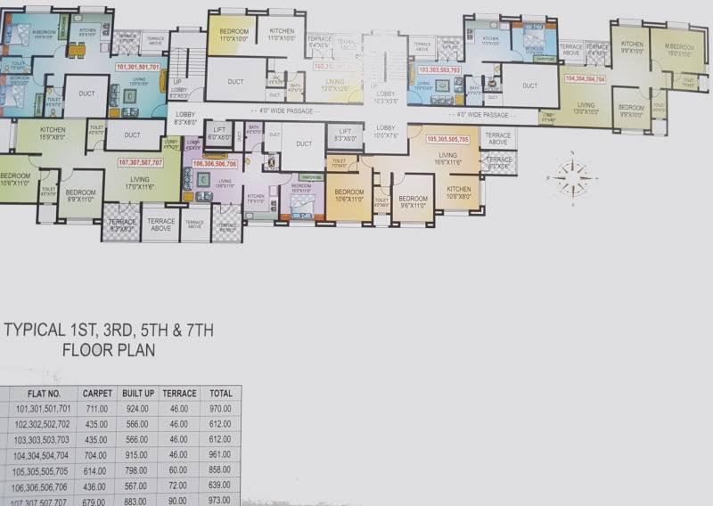 Images for Cluster Plan of Sai Shravi Empire