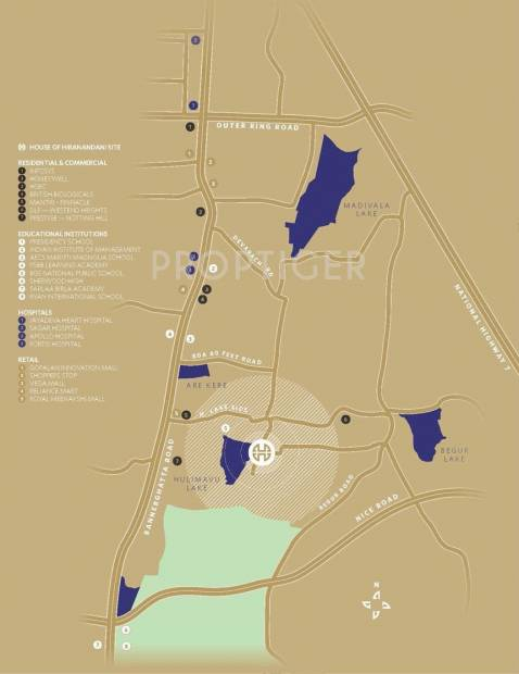 Images for Location Plan of Hiranandani Queensgate