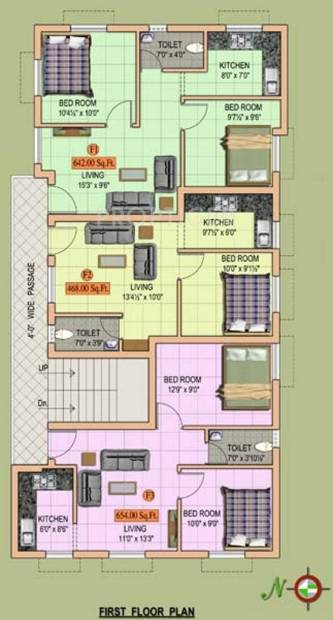 Images for Cluster Plan of MS Builders Sri Ambal City