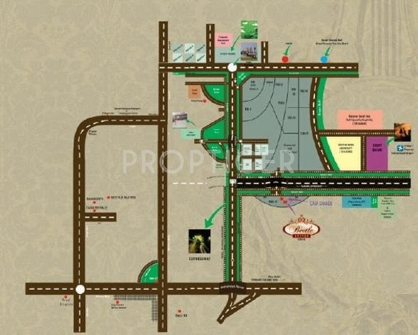 Images for Location Plan of Home and Soul Beetle Suites 2