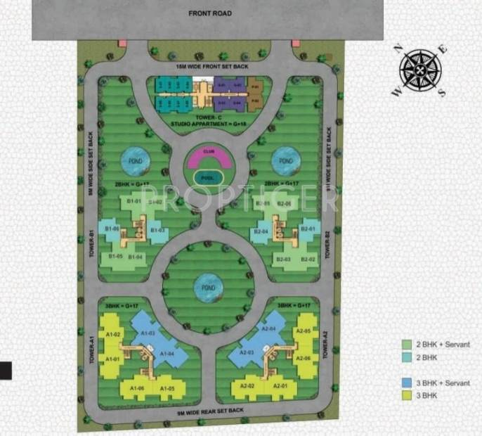 Images for Master Plan of Home and Soul Beetle Suites 2