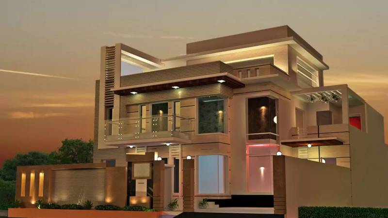 Images for Elevation of Nav Mahal Floors 3