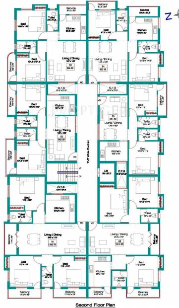 Images for Cluster Plan of Alankar Bharathii Nagar 1