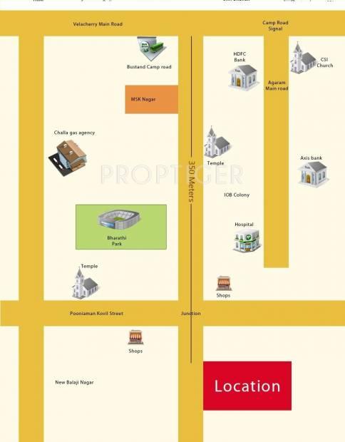Images for Location Plan of Alankar Bharathii Nagar 1
