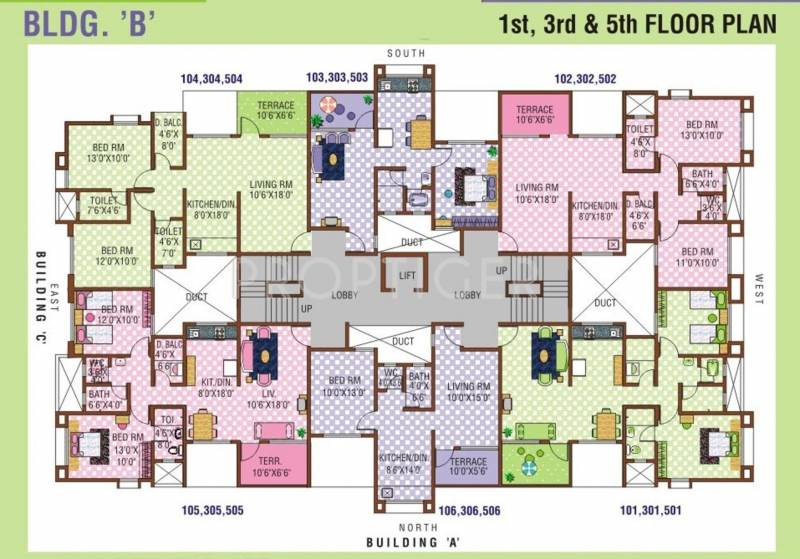 Images for Cluster Plan of Sanjeevani Shyamal