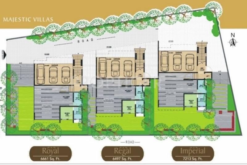 Niche Constructions Majestic Villas Layout Plan