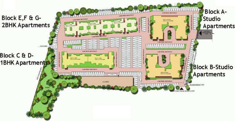 Images for Layout Plan of Excel Codename Five Rings Apartment