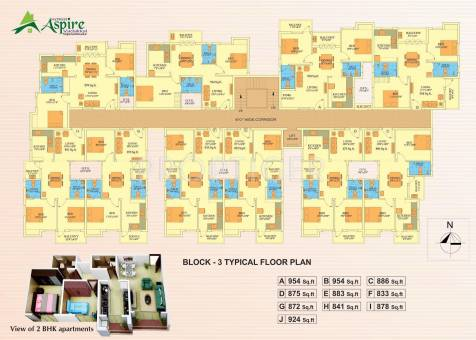 1010 sq ft 2 bhk 2t apartment for sale in natwest aspire for 1010 family plan