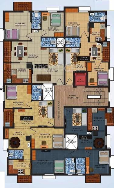 Images for Cluster Plan of Navani Construction Mathura