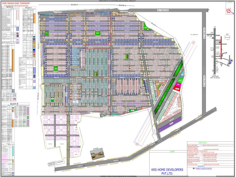 Images for Layout Plan of KRS Shri RadhaRani Township Phase 1