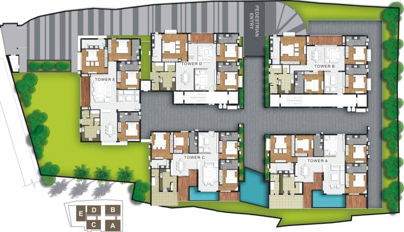 one Images for Layout Plan of Signature One