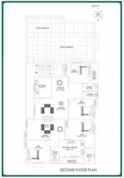 Images for Cluster Plan of Aditi Rajakilpakkam