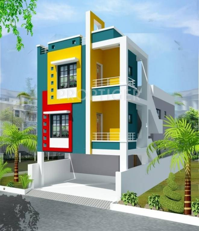 Wood Elevation Network : Sq ft bhk t villa for sale in om sai builders vmg