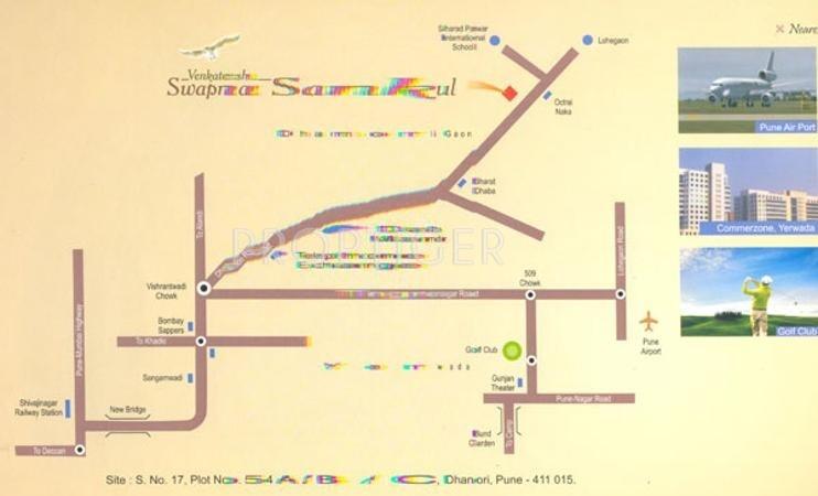 Images for Location Plan of Venkatesh Swapna Sankul