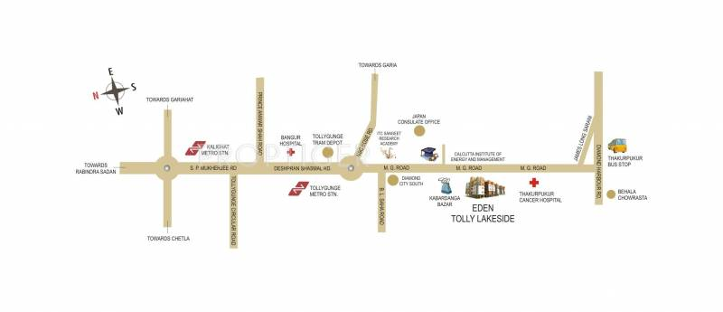 Eden Group Tolly Lakeside Location Plan