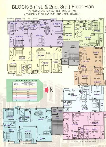 Images for Cluster Plan of VAC Residency