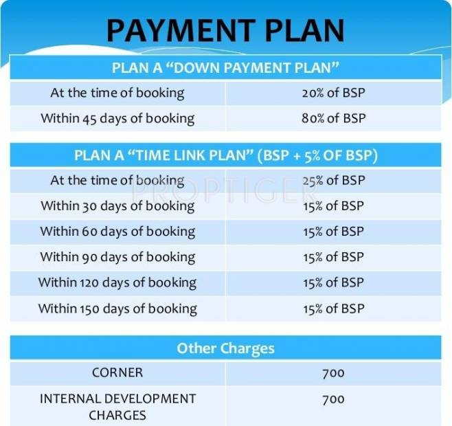 Images for Payment Plan of Home Link Developers F1 Enclave