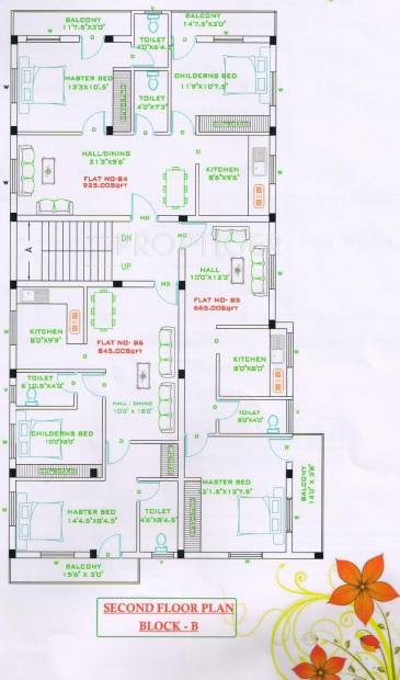 Images for Cluster Plan of Naveen Promoters Green Mothers Villa