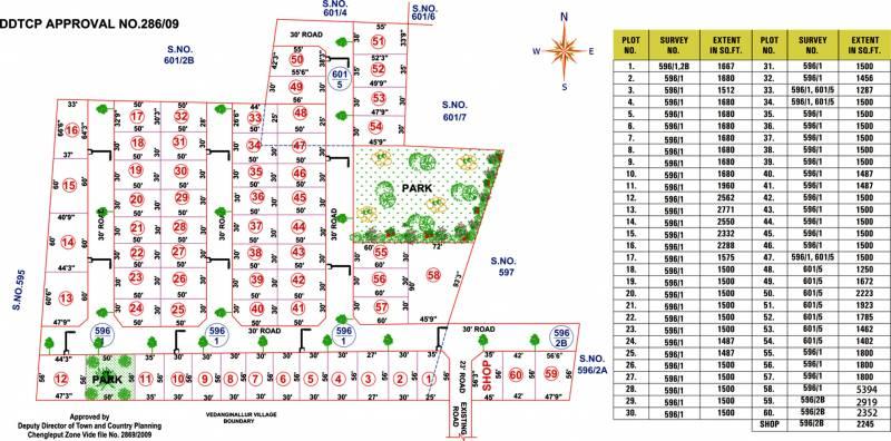 Images for Layout Plan of Anand Sree Venkateshwara Avenue