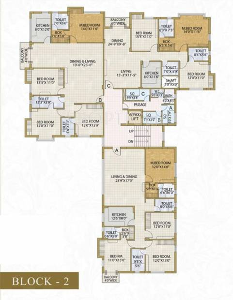 Images for Cluster Plan of Banyan Residency