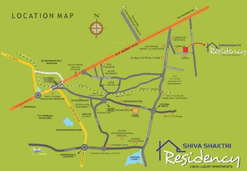 Images for Location Plan of Shiva Shakthi Residency