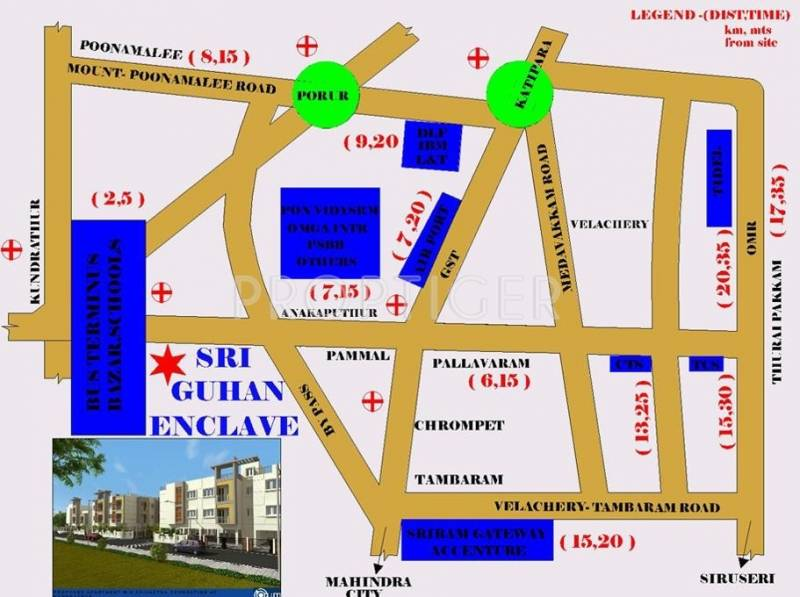 Images for Location Plan of Srivatsa Sri Guhan Enclave