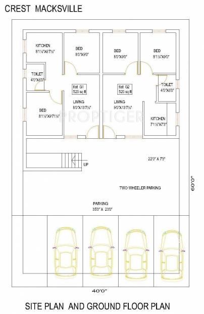 Images for Cluster Plan of Crest Homes Crest Macksville