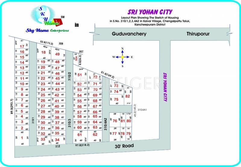 Images for Layout Plan of Sky Home Enterprises Sri Yohan City