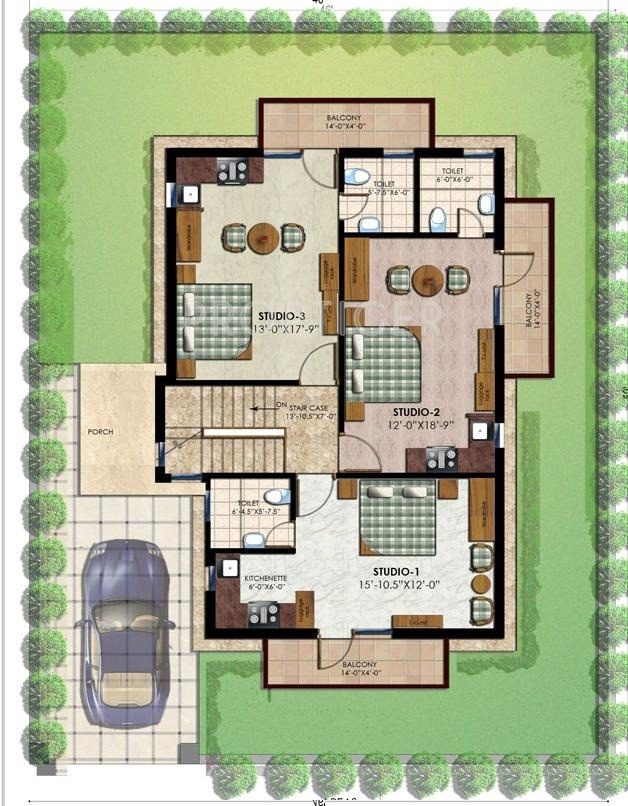 2500 sq ft 4 bhk 4t villa for sale in tirupati groups for Apartment floor plans 2500 sq ft