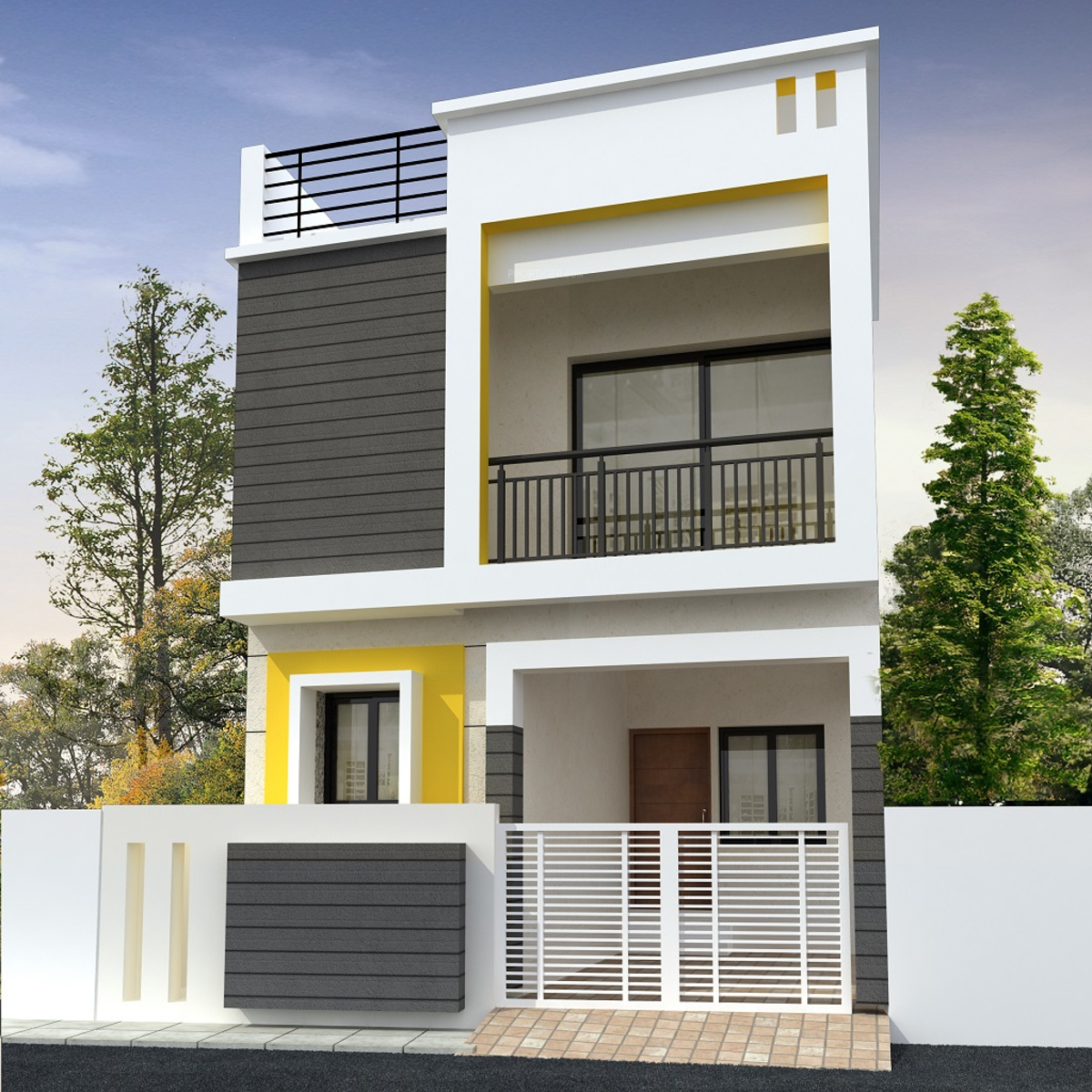 House Design At Ludhiana India: 1569 Sq Ft 3 BHK 3T Villa For Sale In Shrii Dharshini