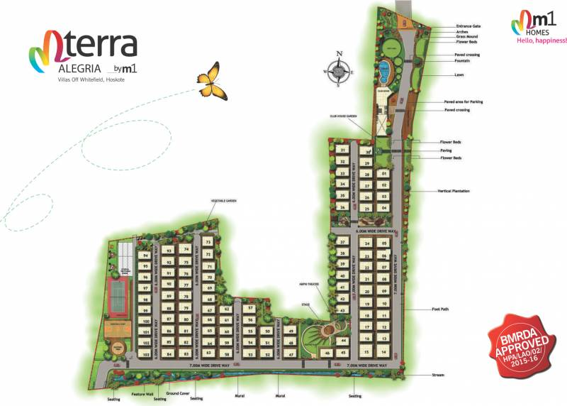 Images for Layout Plan of M1 Terra Alegeria Villa