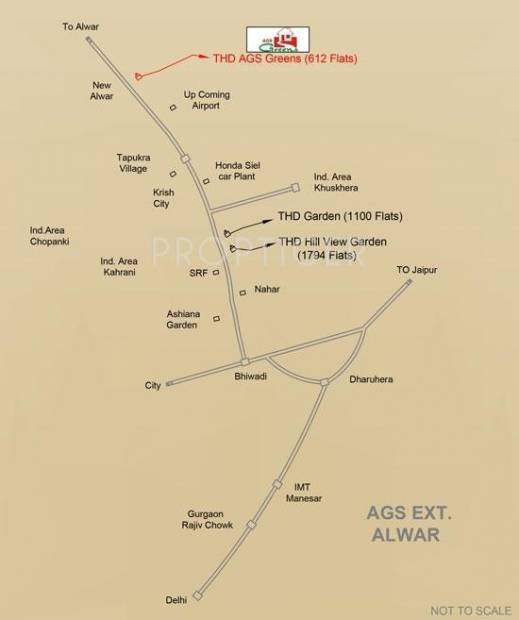 Images for Location Plan of Trehan AGS Greens