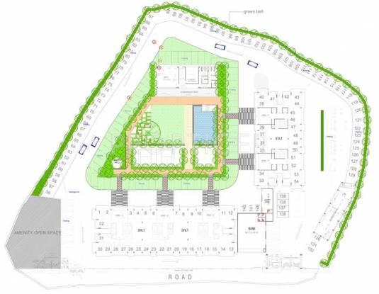 residency Wing B Cluster Plan
