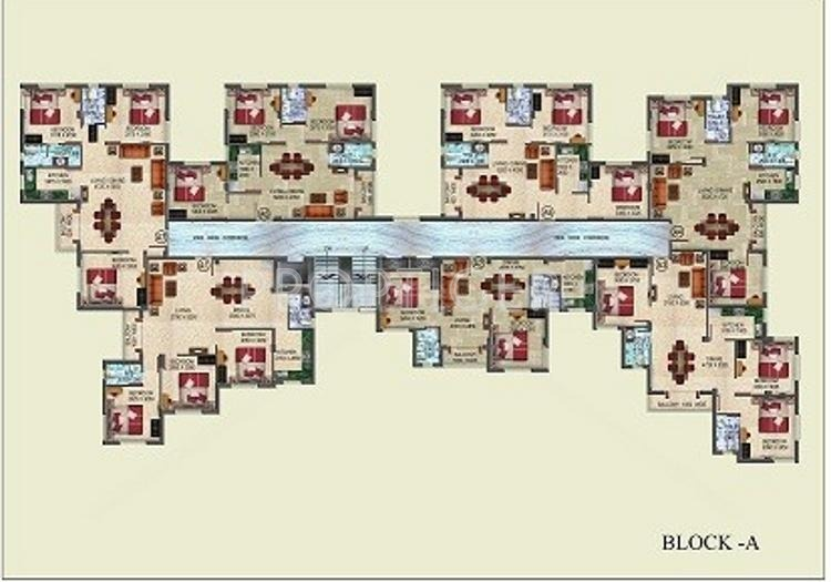 Images for Cluster Plan of Rupayan Su Casa Wood