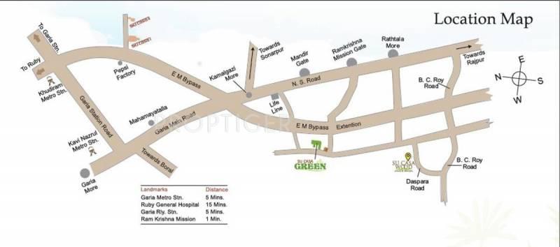 Images for Location Plan of Rupayan Su Casa Wood