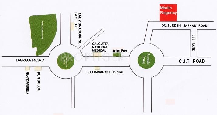 Images for Location Plan of Merlin Merlin Regency