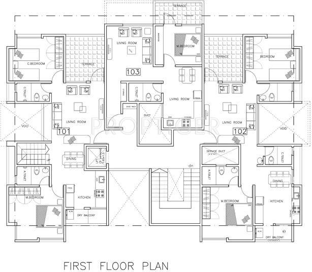 Images for Cluster Plan of Prathamesh Utkarsha Orchid