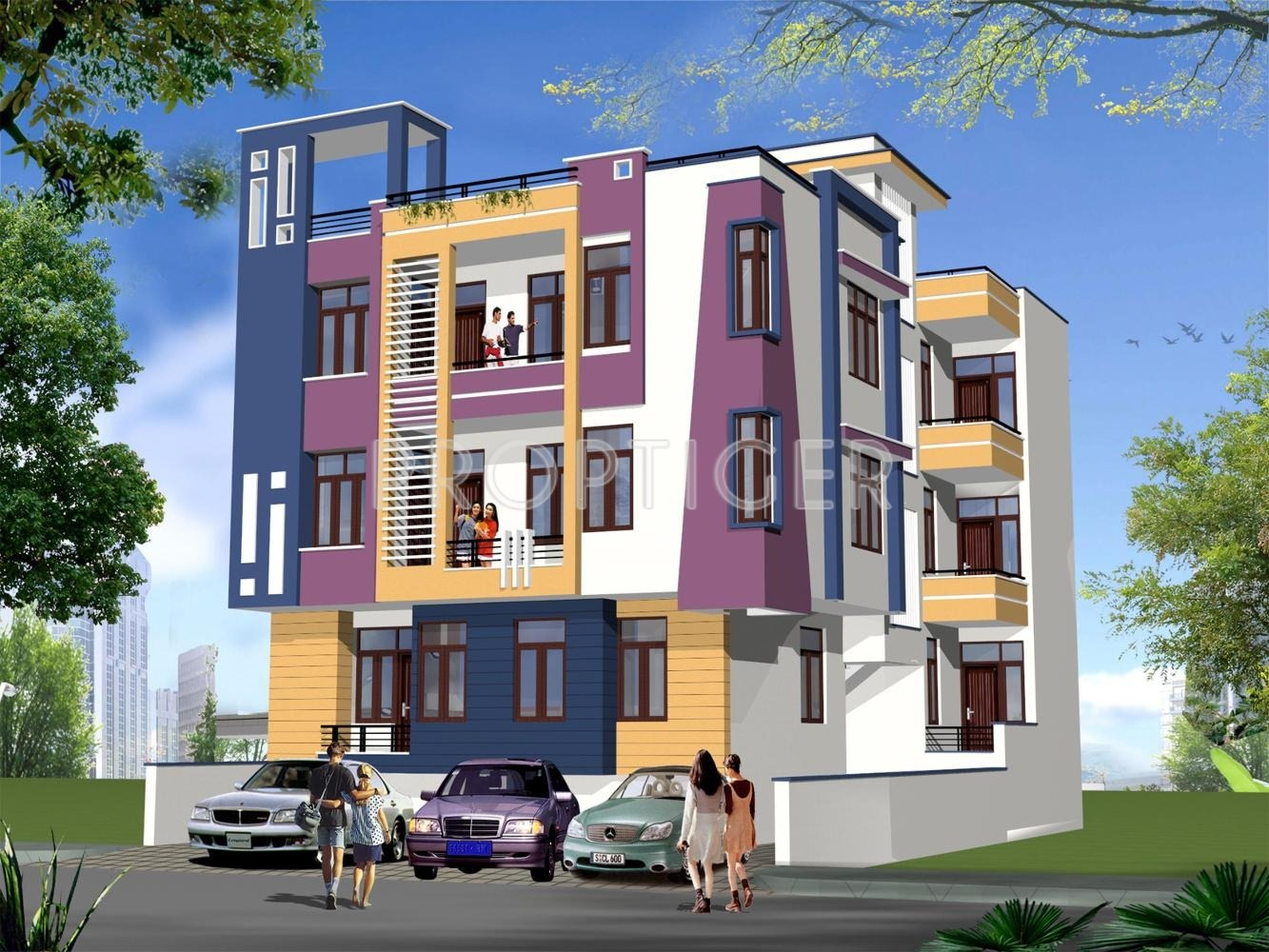 2 Bhk 2t Apartment For Sale In Apeksha Group Tulsi Villa
