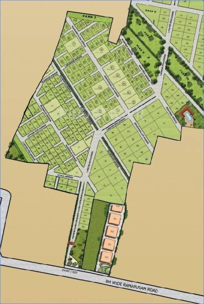 Images for Layout Plan of Lancor Town And Country