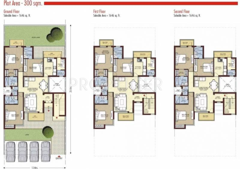 Images for Cluster Plan of Unitech Uni Homes