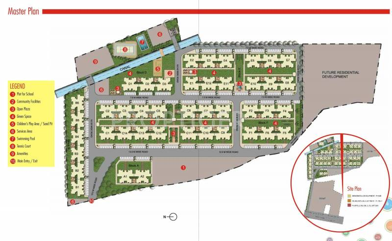 Images for Master Plan of Unitech Uni Homes