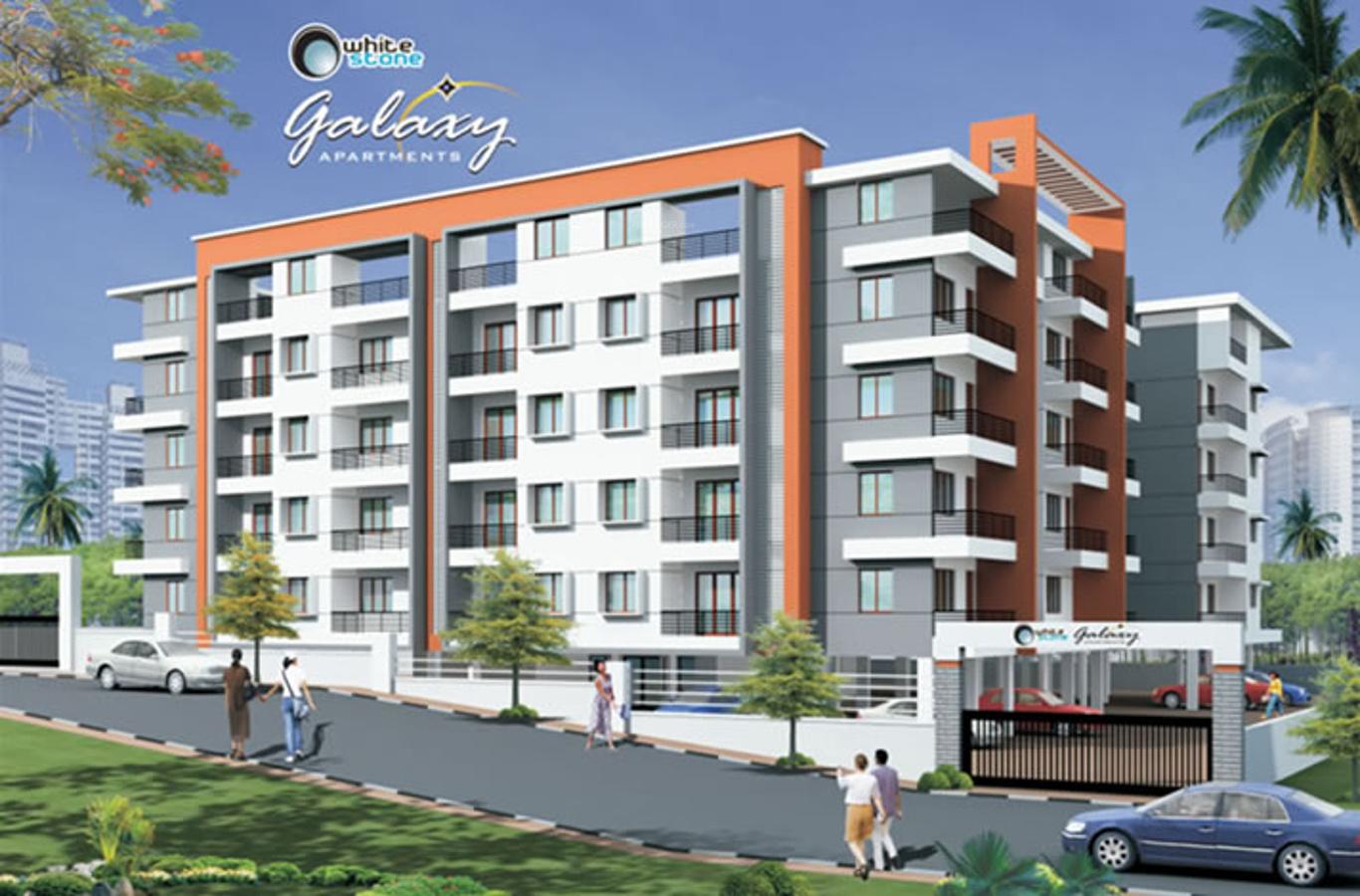 Elevation Stones Bangalore : Bhk cluster plan image white stone