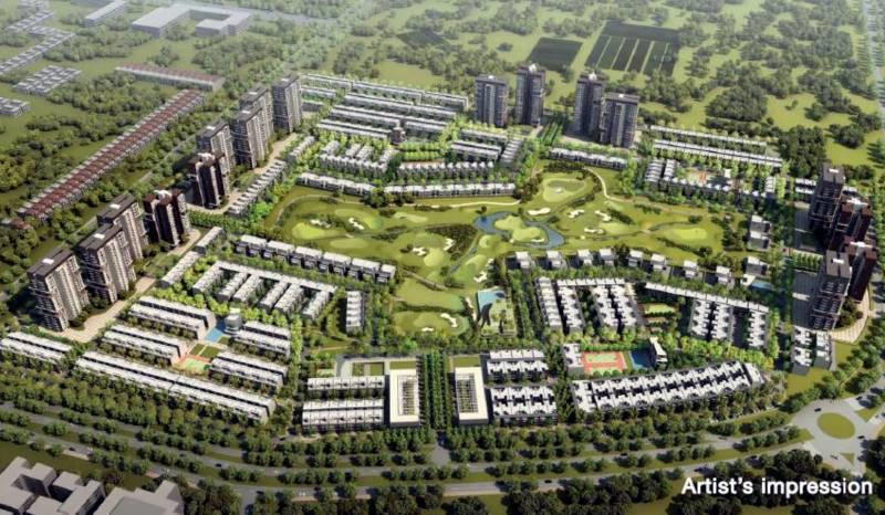 Images for Master Plan of Godrej Golf Links Villas