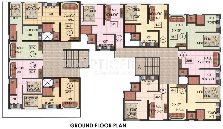 540 Sq Ft 1 Bhk 1t Apartment For Sale In Mrunal