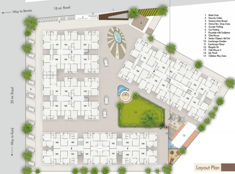 Images for Layout Plan of BN Astha Vihar