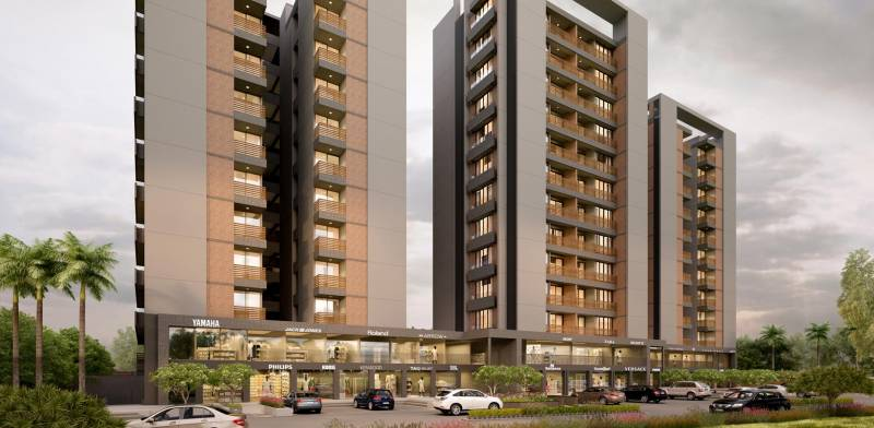 Images for Elevation of B Desai Anand Sapphire