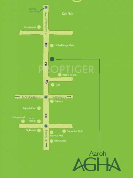 Images for Location Plan of Siddhi Aarohi Agha