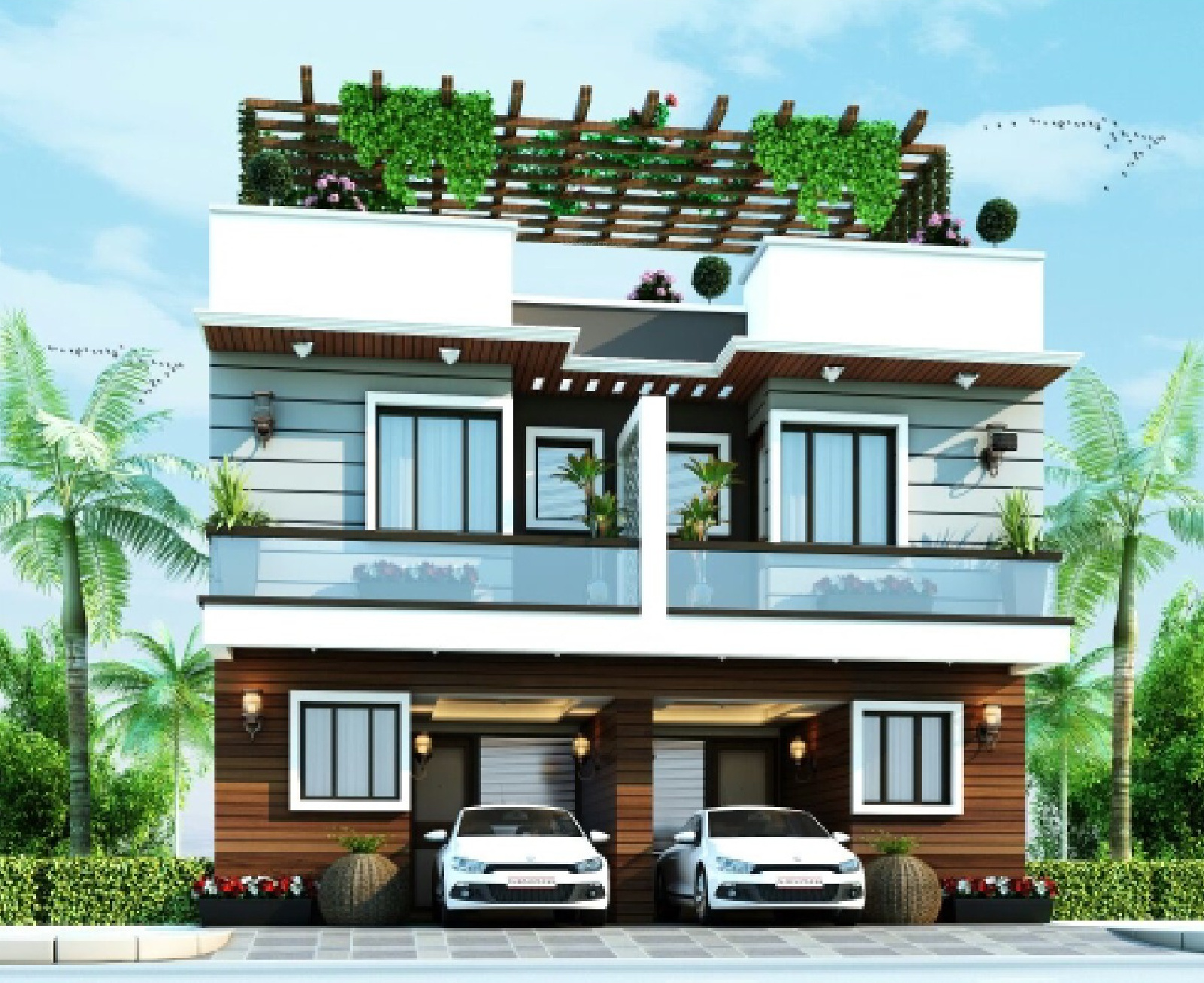 Payment plan image of aarvanss infrastructure independent for Greentown villas 1 extension