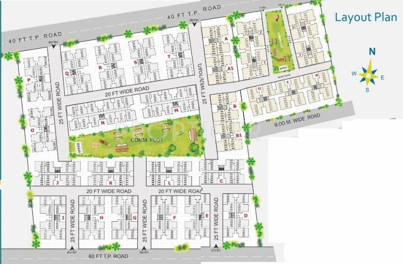 Images for Layout Plan of Aroma Aakruti Township