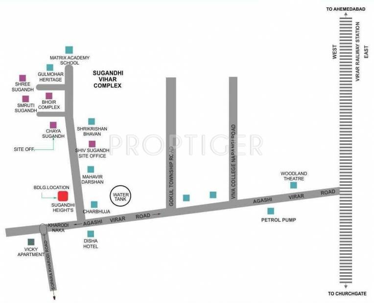 vihar Images for Location Plan of Sugandhi Vihar